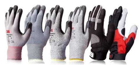 3M adds three new options for a full lineup of six workplace safety gloves designed for increased pr ...