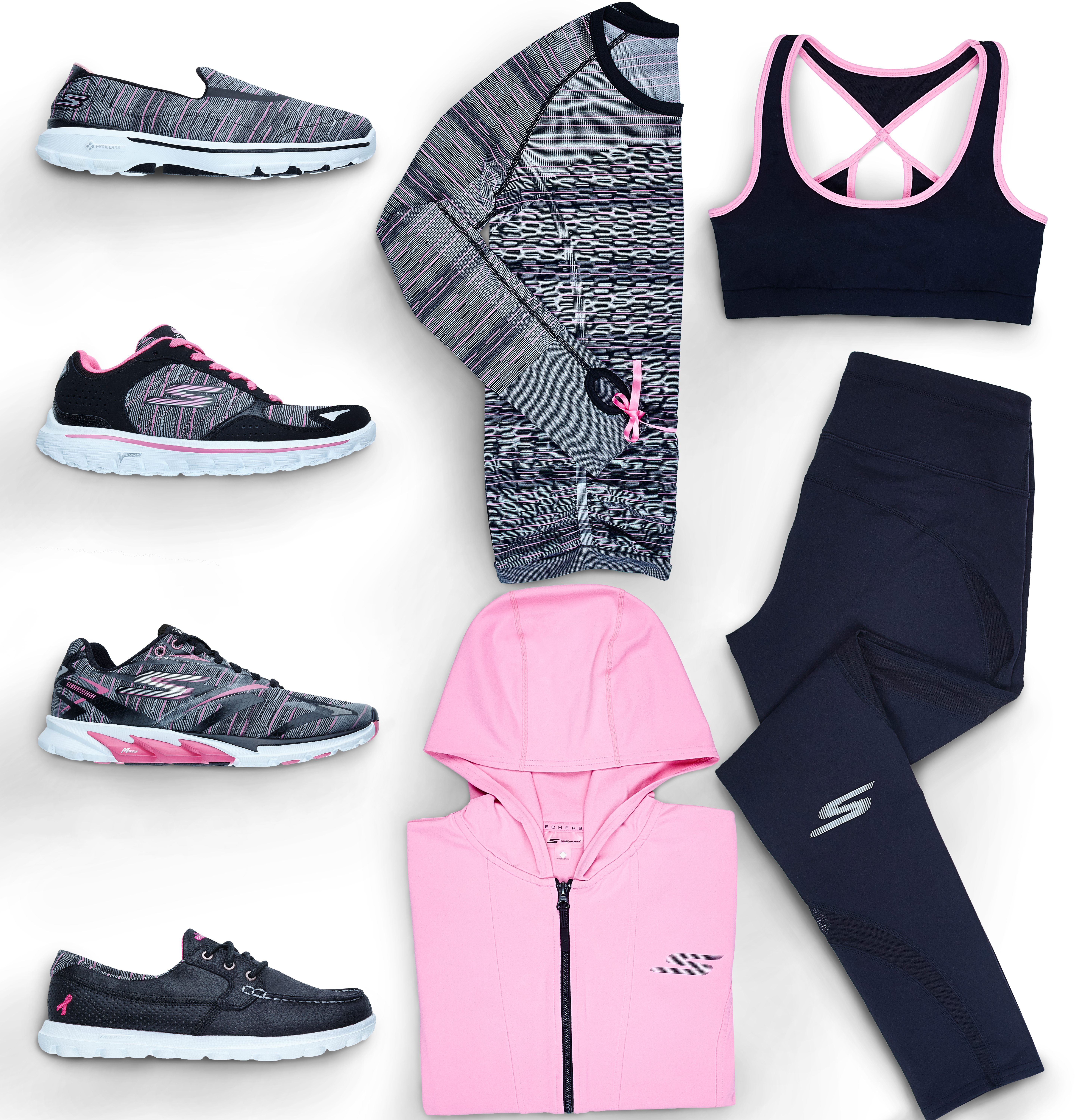 9954106f751 Skechers Performance Partners for a Second Year with American Cancer  Society to Support the Fight against Breast Cancer | Business Wire