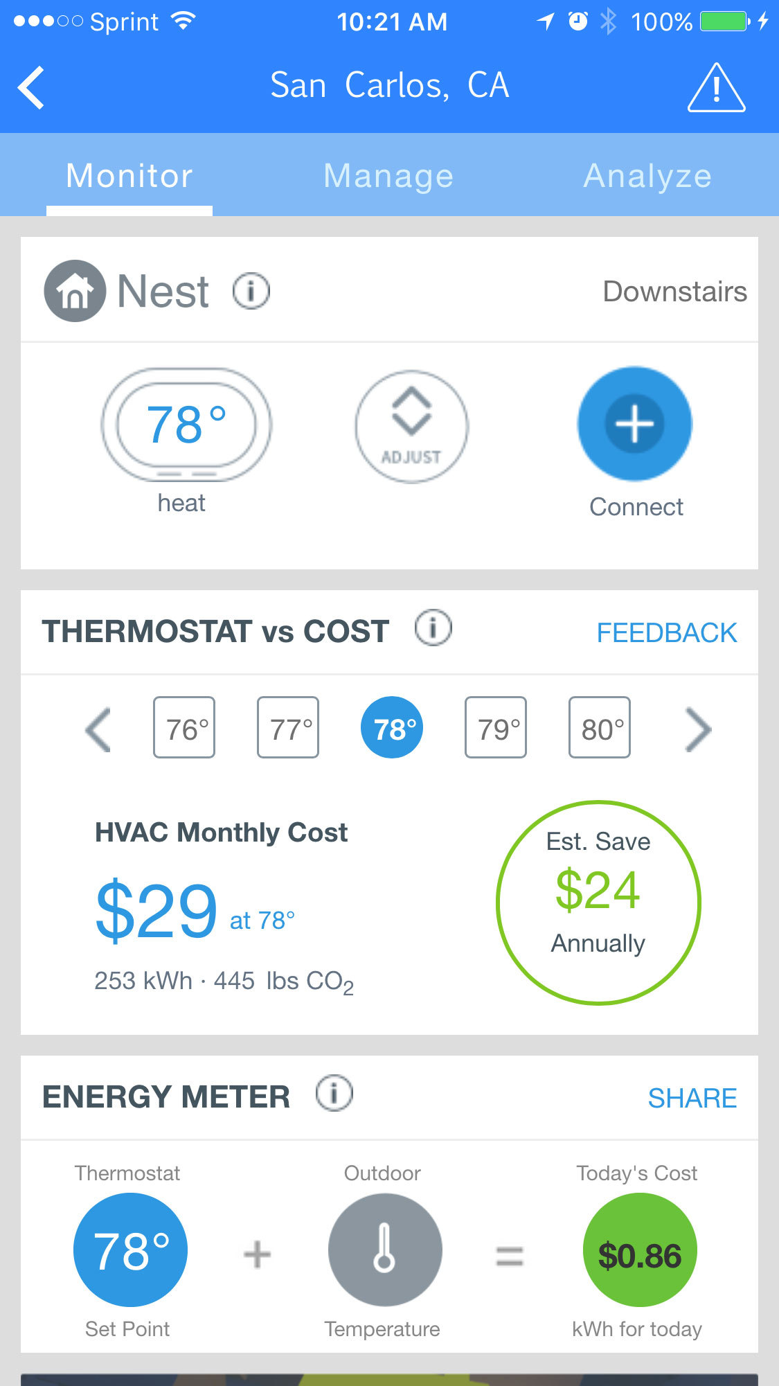 WeatherBug Home Works with Nest to Provide Real-time Energy