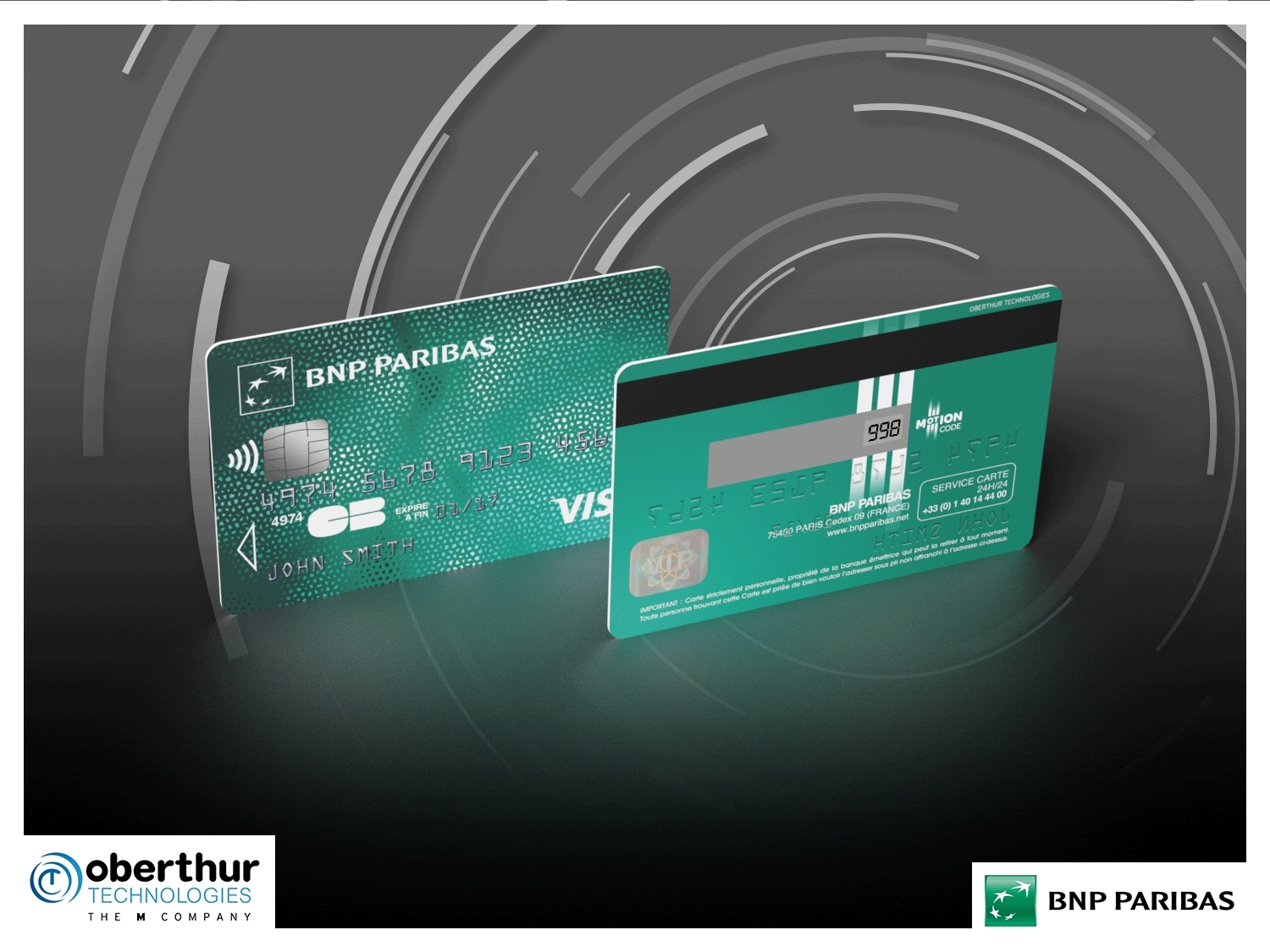 BNP Paribas Trials OT\'s Innovative Payment Card for Secure Online ...