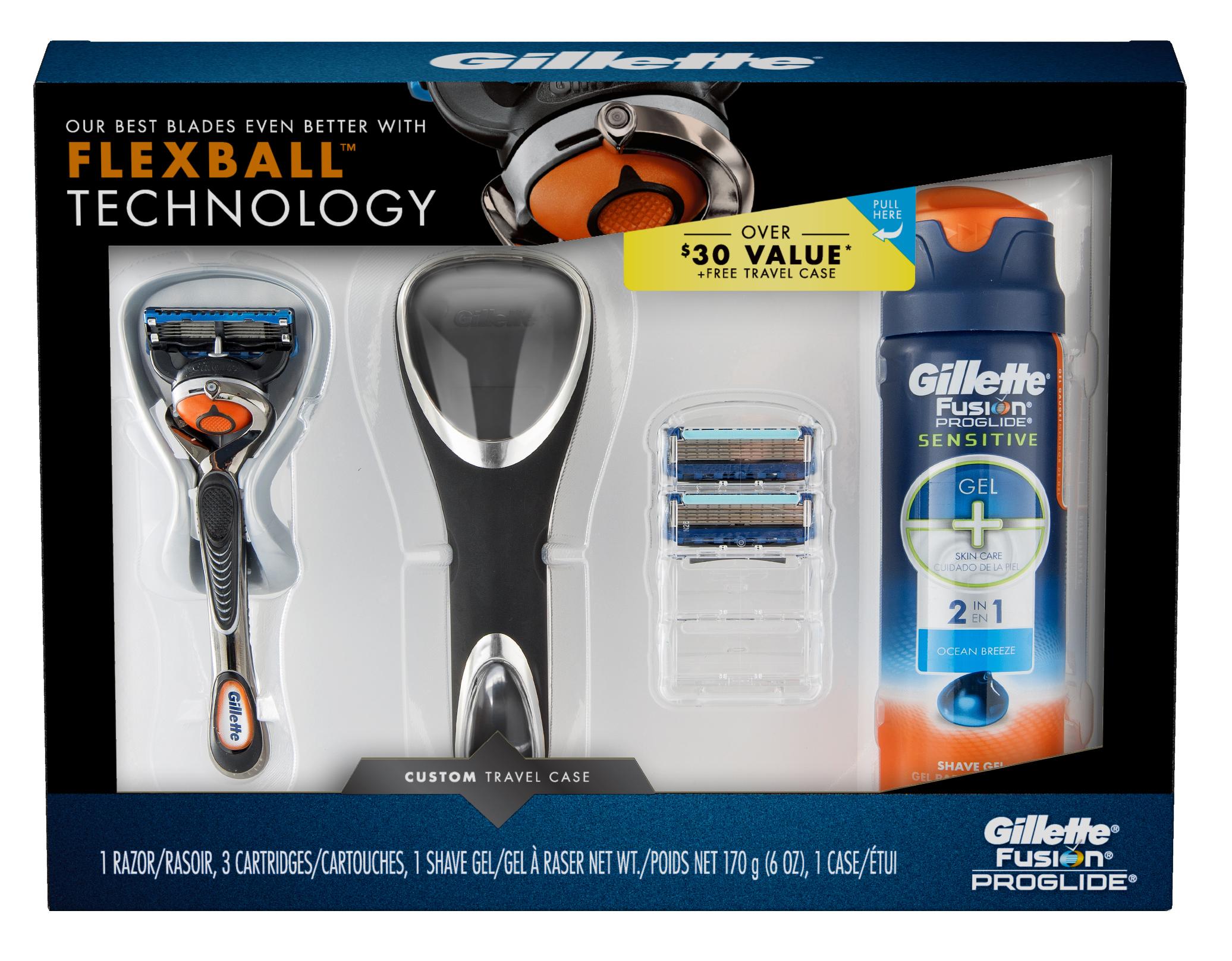 Gillette fusion proglide manual razor with flexball technology -  Img