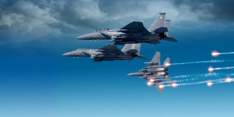 BAE Systems to develop and manufacture new electronic warfare system for U.S. Air Force's F-15. (Pho ...