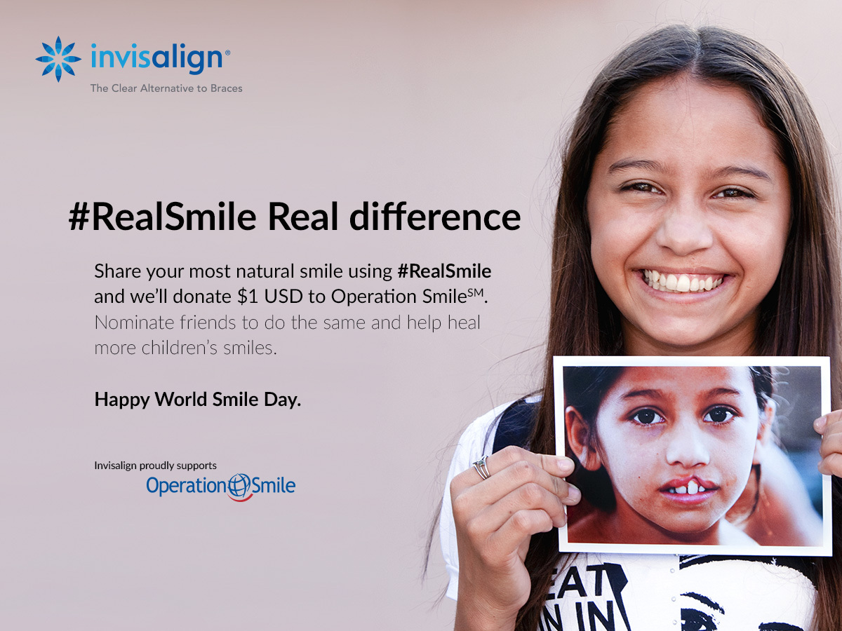 Smile and the World Smiles with You: Align Technology Will Donate US ...