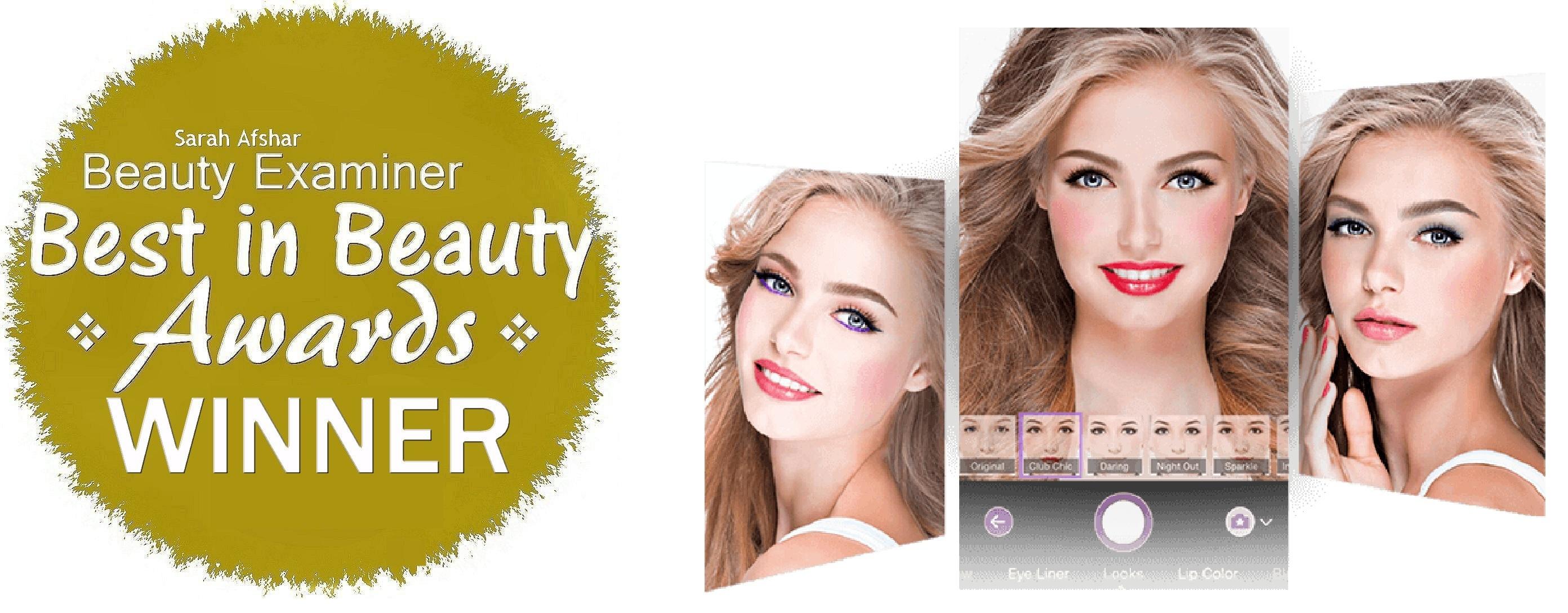 "YouCam Makeup Wins ""Best in Beauty"" Award 2015 for Best"