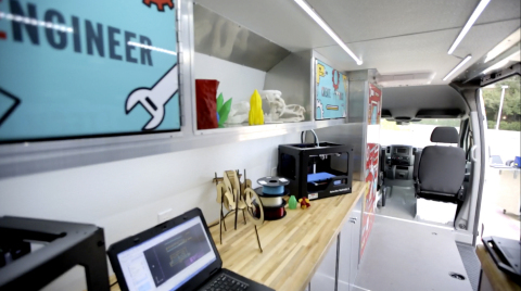 A glimpse at the inside of a TECH Truck. (Photo: Business Wire)