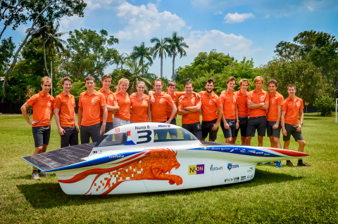 TomTom Announces Sponsorship of Nuon Solar Team in the World Solar Challenge (Photo: Business Wire)