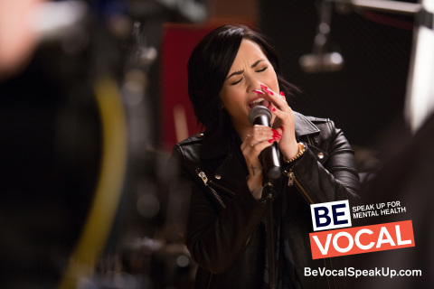 Be Vocal Demi Lovato singing (Photo: Business Wire).