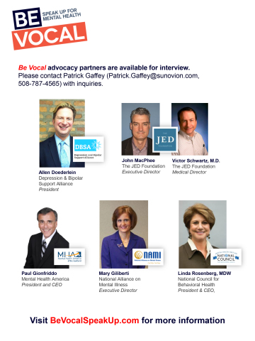 Be Vocal Advocacy Partners Available for Interviews (Graphic: Business Wire).