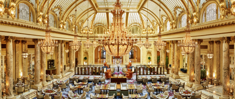 The Garden Court remains the jewel of The Luxury Collection®'s Palace Hotel.