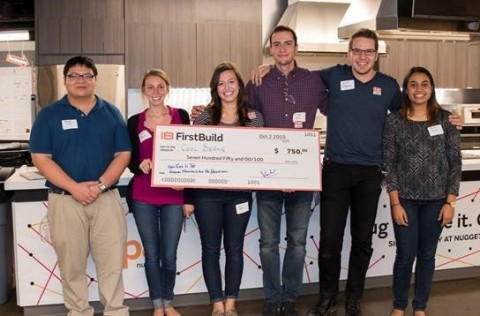 Hackathon winner Cool Beans is comprised of college co-op students from Ohio, Illinois, Florida and  ...