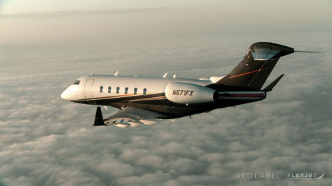 Red Label by Flexjet features flight crews dedicated to a single aircraft, artisan cabin interiors a ...