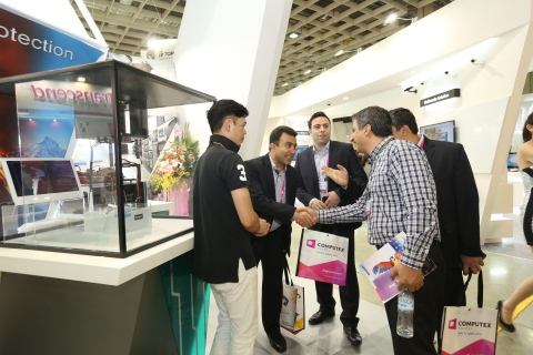 2015 COMPUTEX showground (Photo: Business Wire)