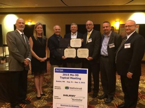 2015 Mo99 Topical Meeting Boston, MA UPPI LEU Walk Certificate Awards Presentation (Photo: Business  ...