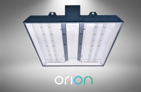 Orion's patent-pending ISON™ LED High Bay sets a new standard for industrial lighting fixtures, delivering best in class performance at up to 179 lumens per watt and lowest 10-year total cost of ownership.