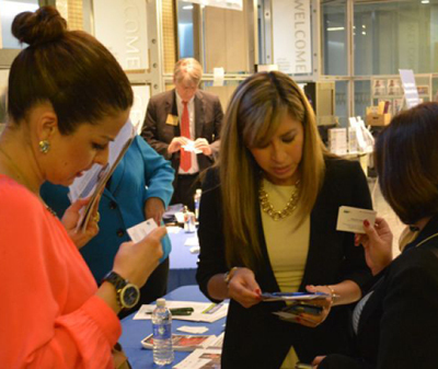 Networking at last year's Hispanic Business Summit (Photo: Business Wire)
