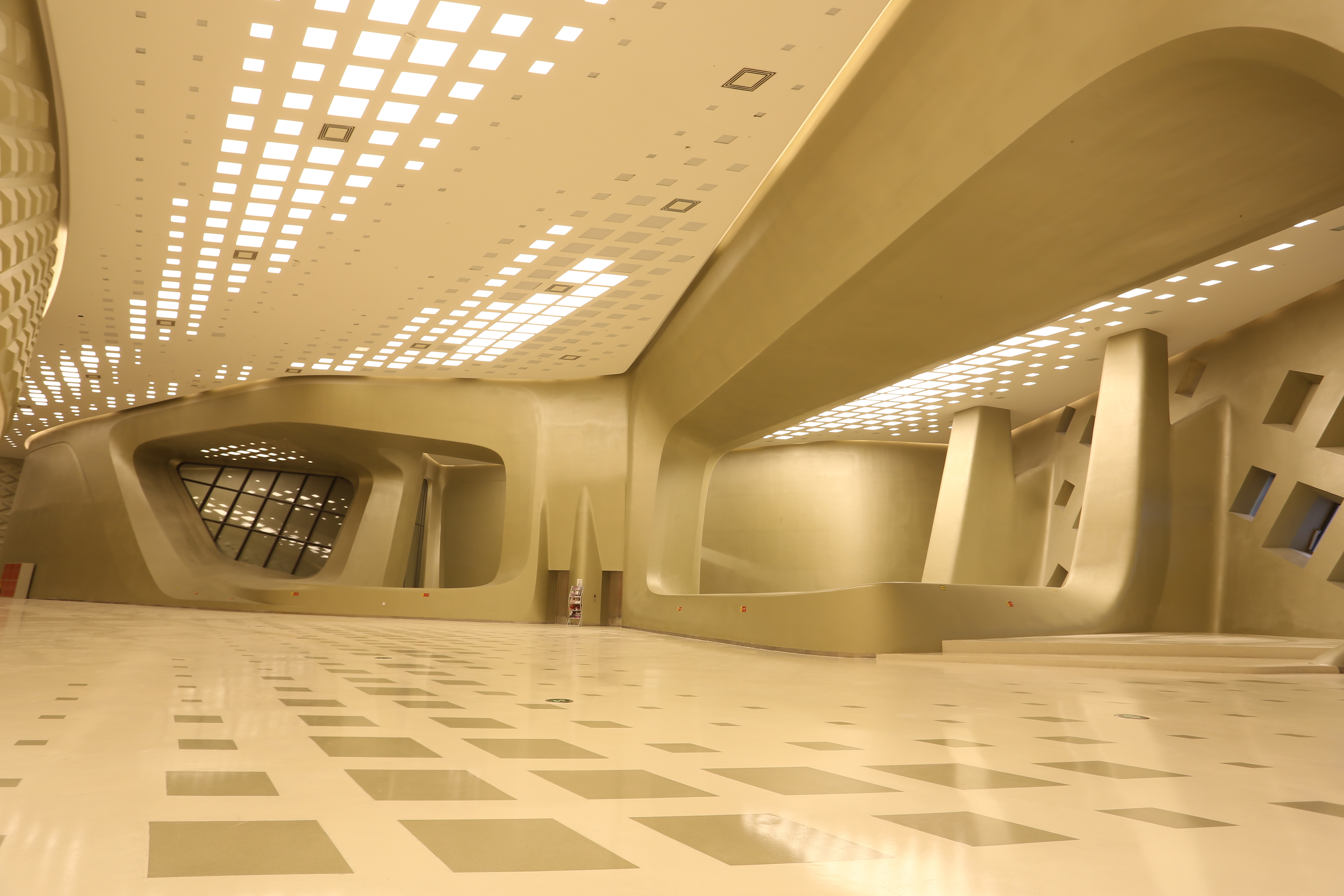 Cdn lighting hilft nanjing international youth cultural center den
