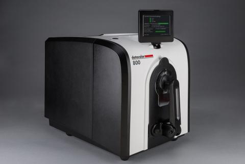 Datacolor 800系列桌上型分光光度計搭載全新的嵌入式處理器和資料記憶體,提供一個效率和色度測量置信度更高的平臺,同時秉承Datacolor一流的精度、準確性和產品相容性。(照片:美國商業資訊)