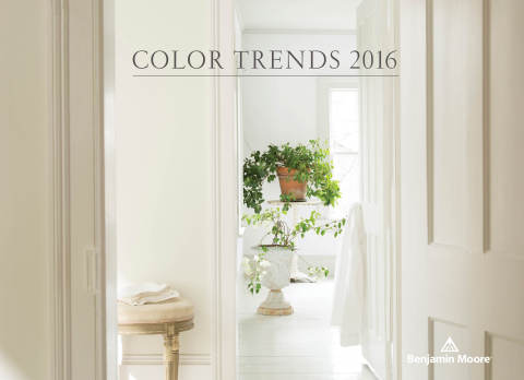 Benjamin Moore, North America's favorite paint, color and coatings brand, today announced its highly anticipated 2016 Color of the Year - Simply White OC-117. (Photo: Business Wire)