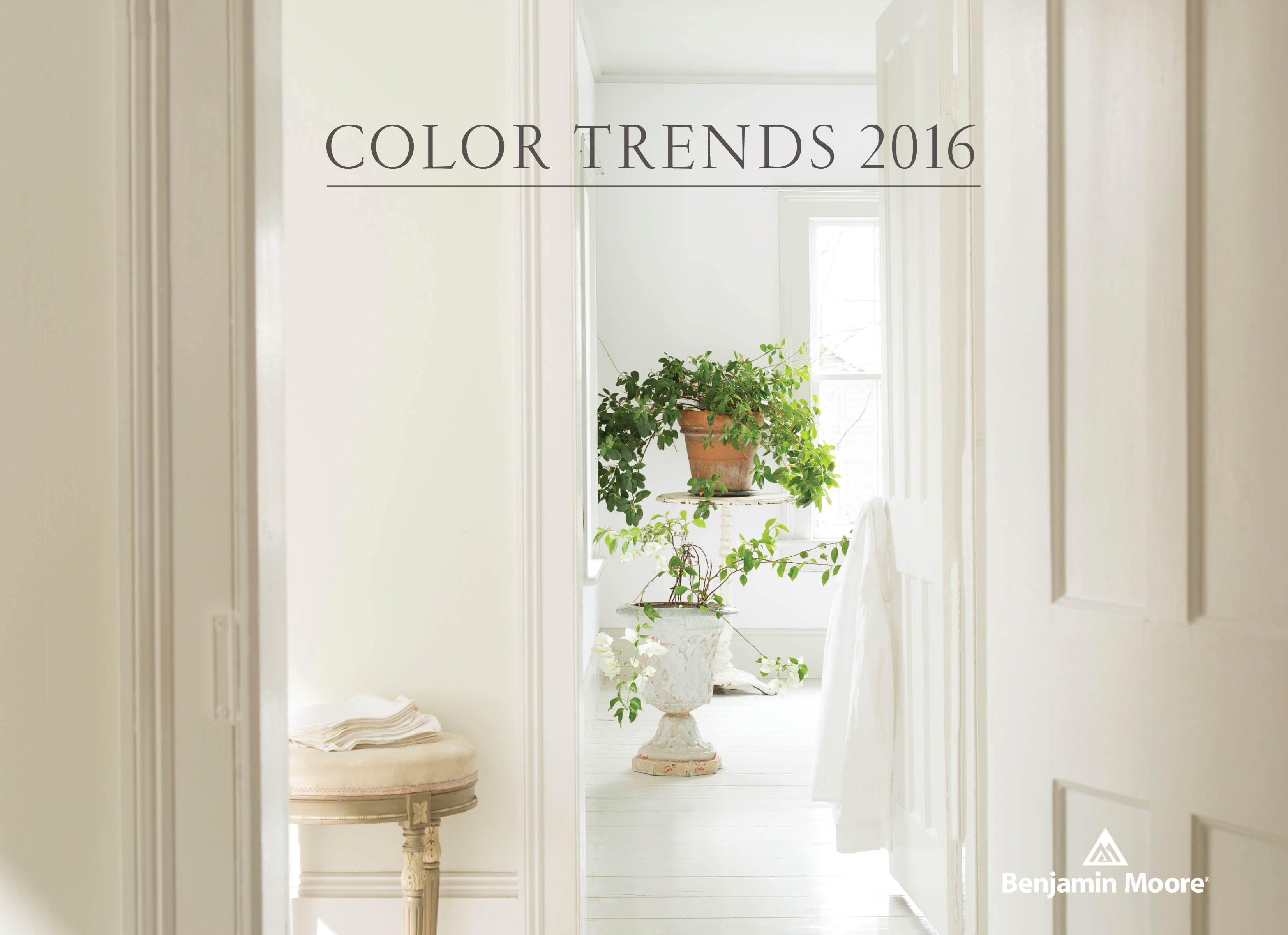 Benjamin Moore Names Simply White Its 2016 Color of the Year | Business  Wire