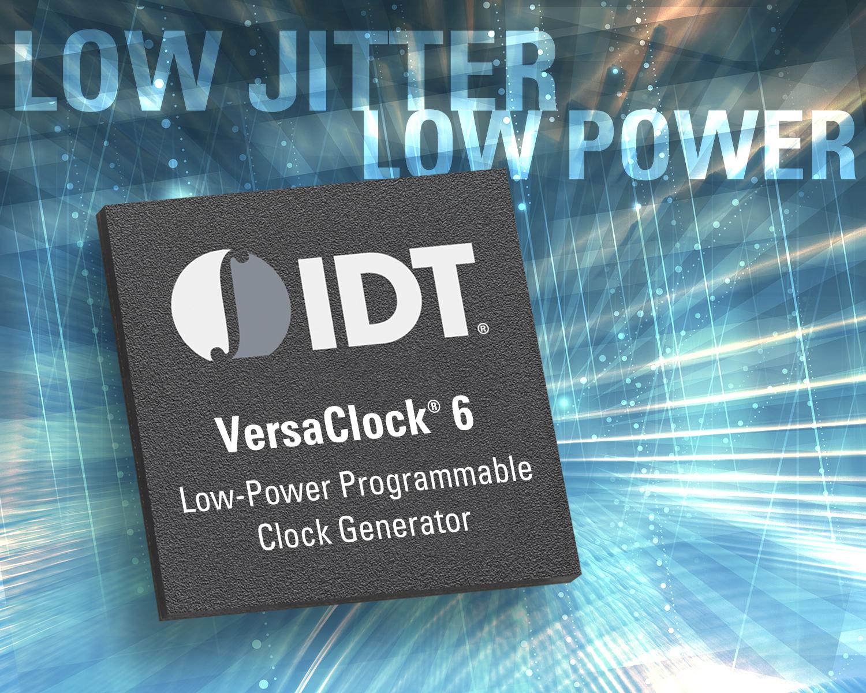 New VersaClock 6 Programmable Clock Generators Achieve Best ...