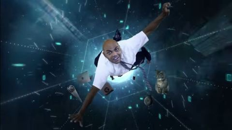 Charles Barkley is trapped in the Internet and only CDW can save him. (Photo: Business Wire)