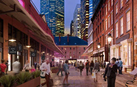 Seaport District - Historic Streetscape (Photo: Business Wire)