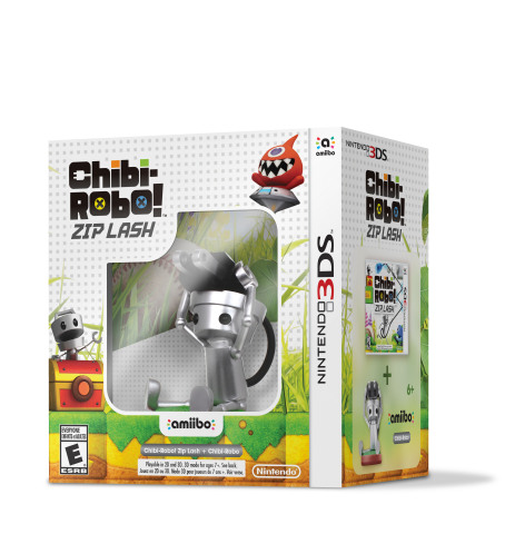 Chibi-Robo! Zip Lash will launch in stores, in the Nintendo eShop and at Nintendo.com on Oct. 9 at a suggested retail price of $29.99. Players who want to also purchase the Chibi-Robo amiibo can find him in a special bundle that includes the game and amiibo figure at a suggested retail price of $39.99. (Photo: Business Wire)