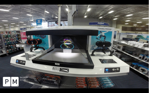 PM SCREEN takes standard and boring retail displays to the next level (Photo: Business Wire)