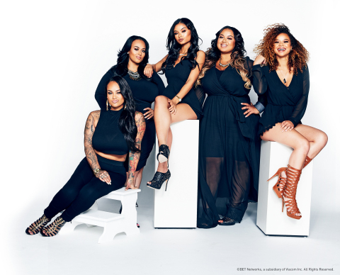 "(From L-R) Morgan, Brooke, India, Bree and Crystal WestBrooks star in new reality series ""#THEWESTBROOKS"" premiering Wednesday, October 14 at 10 P.M. ET/PT on BET (Photo: Business Wire)"
