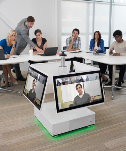 Polycom RealPresence Centro is the industry's first solution purpose-built to put people at the center of collaboration. (Photo: Business Wire)