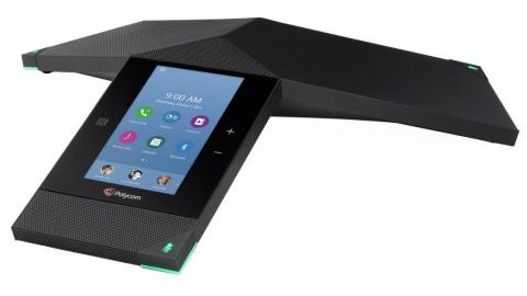 Polycom RealPresence Trio is the first smart hub for group collaboration that transforms the company's iconic three-point conference phone into a voice, content-sharing and video system for any environment. (Photo: Business Wire)