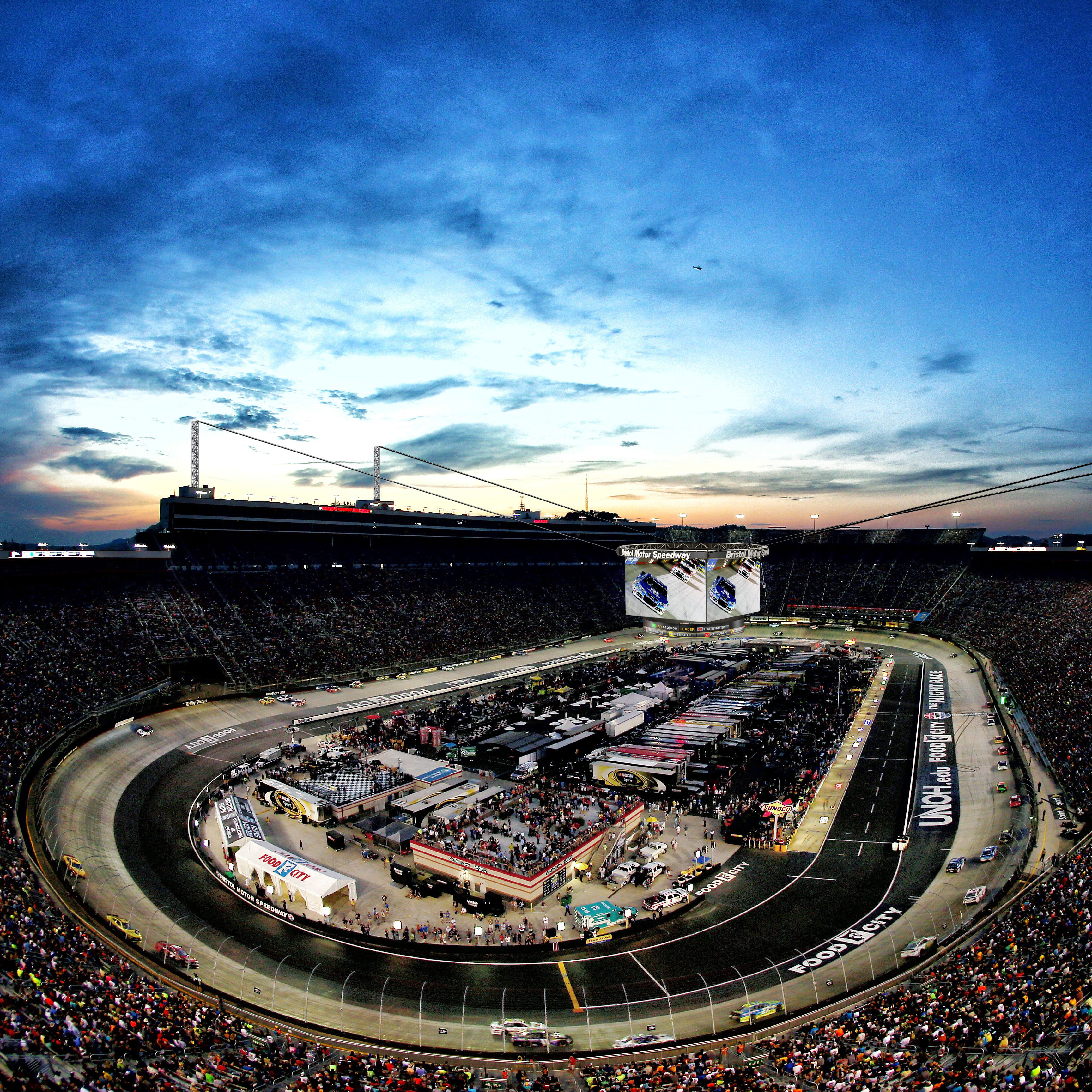 Bristol motor speedway seating chart interactive for Taggart motors portland texas