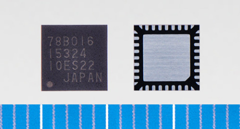 """Toshiba: a three-phase brushless motor driver IC """"TC78B016FTG"""" (Photo: Business Wire)"""