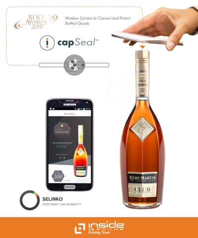 INSIDE Secure's CapSeal Product Improves Consumer Relationships and Helps Tackle Counterfeit Bottle Refilling (Photo: Business Wire)