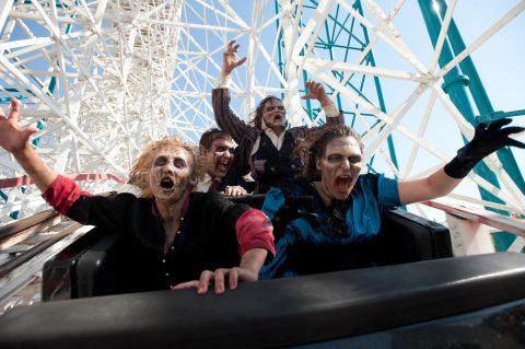 Fright Fest at Six Flags Magic Mountain, Valencia, CA. (Photo: Business Wire)