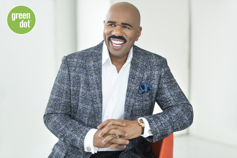 Steve Harvey will serve as Green Dot's celebrity spokesperson and brand ambassador for all products issued by Green Dot Bank. (Photo: Business Wire)