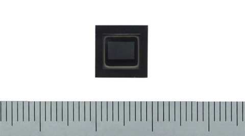 "Toshiba: industry's first 2-megapixel CMOS image sensor ""CSA02M00PB"" supporting LED flicker mitigation (Photo: Business Wire)"