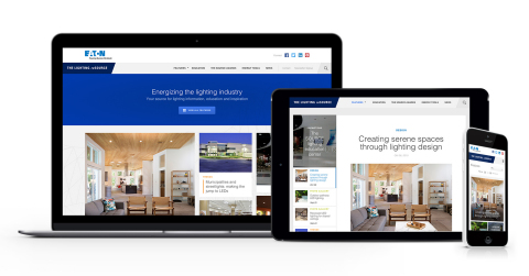 Eaton launches The Lighting reSOURCE, an online site providing lighting industry professionals with information, news and original content designed to inspire and educate. (Photo: Business Wire)