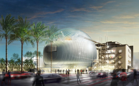 The Academy Museum of Motion Pictures is being built in the heart of Los Angeles. (Photo: Business Wire)