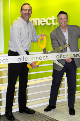 Sam Howe, Allconnect CEO and Lee Pritchard founder and former CEO of Allconnect (Photo: Business Wire)