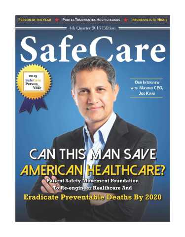 SafeCare杂志年度人物(照片:美国商业资讯)