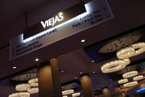 Viejas Casino & Resort expanded casino and updated décor. (Photo: Business Wire)
