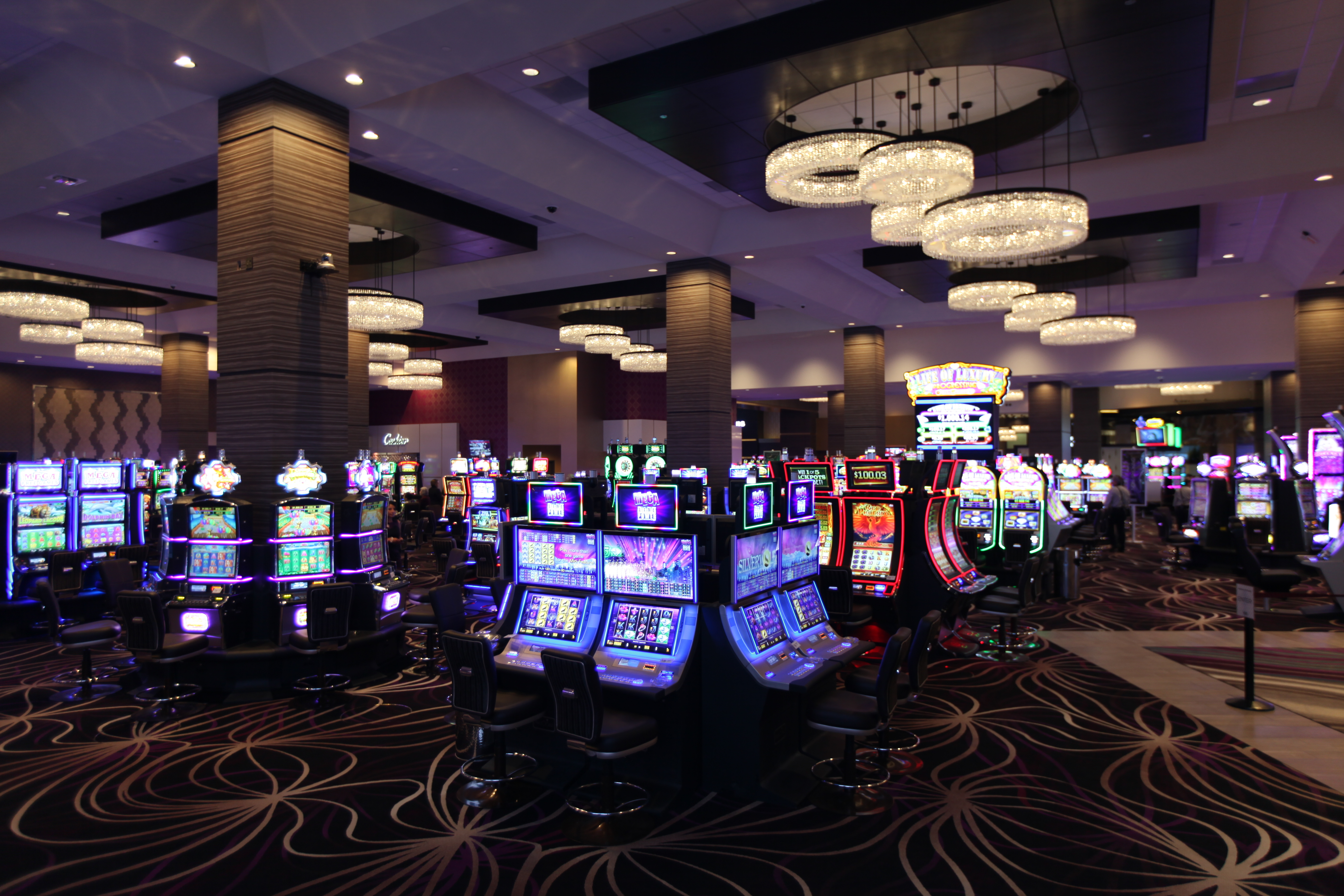 viejas casino resort opens expanded casino with 1 000 new slots