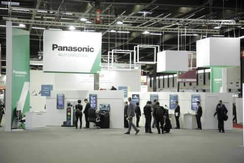 Panasonic booth at ITS 2015 (Photo: Business Wire)