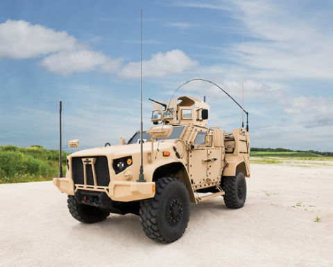 """""""The Oshkosh JLTV is hands down the most capable vehicle ever built,"""" said John Urias. (Photo: Business Wire)"""