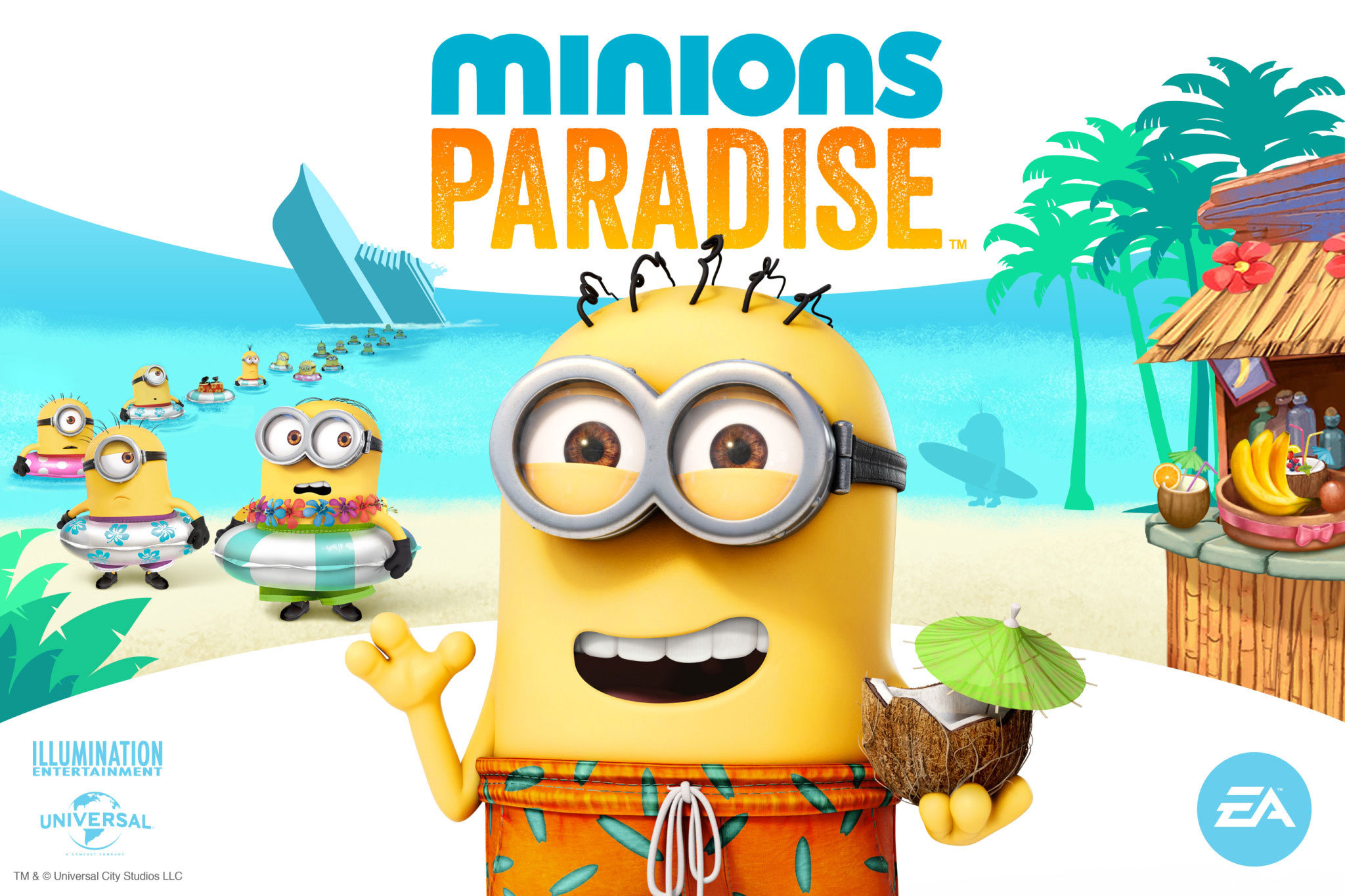Minions Party Party With The Minions In Minions Paradise An All New Game
