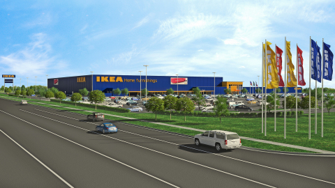 ikea submits plans for a store in grand prairie texas to