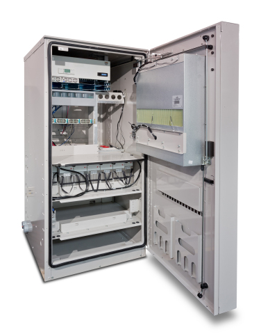 The innovative PowerShift solution from CommScope requires no manual calibration when managing power supply. (Photo: Business Wire)