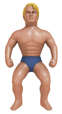 The STRETCH ARMSTRONG toy will once again be pulled to his limits by kids as Hasbro licenses global rights for its iconic toy brand to The Character Group. The hilarious action figure, first launched in 1976, will bring a new round of enjoyment to today's kids with a line of STRETCH ARMSTRONG classic toys to be released summer 2016.  (Photo: Business Wire)