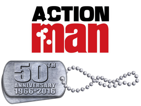 """The ACTION MAN brand celebrates its 50th anniversary in 2016! To mark the occasion, Hasbro has licensed Art + Science International, a specialist company in developing and launching retro toys, to release five ACTION MAN collector edition figures in June 2016. The range will feature the classic British infantrymen, the skier, the parachutist, the scuba diver, and the footballer, each inspired by the best of the ACTION MAN brand and featuring accessories, gripping hands, a realistic """"flock"""" of hair, and ACTION MAN's famous scar. (Graphic: Business Wire)"""